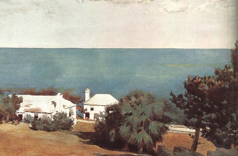 Bermuda beach, Winslow Homer