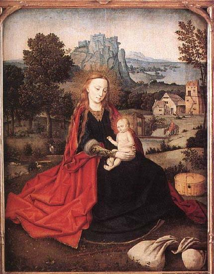 Rest on the Flight into Egypt, unknow artist