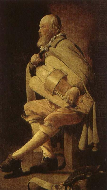a 17th century hurdy gurdy player in georges de la tour s le vielleur., Hans Multscher