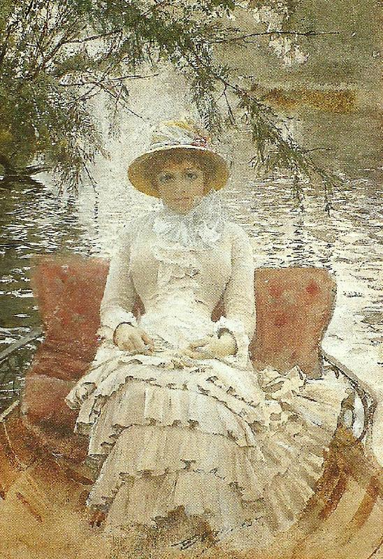 pa themsen, Anders Zorn
