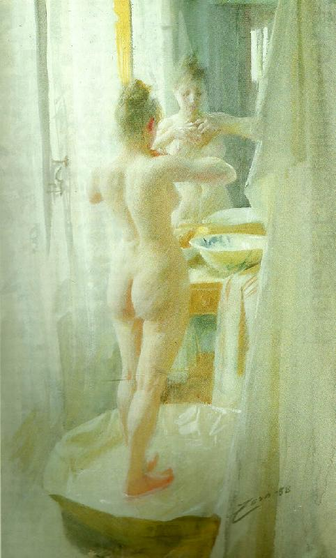 le tub, Anders Zorn