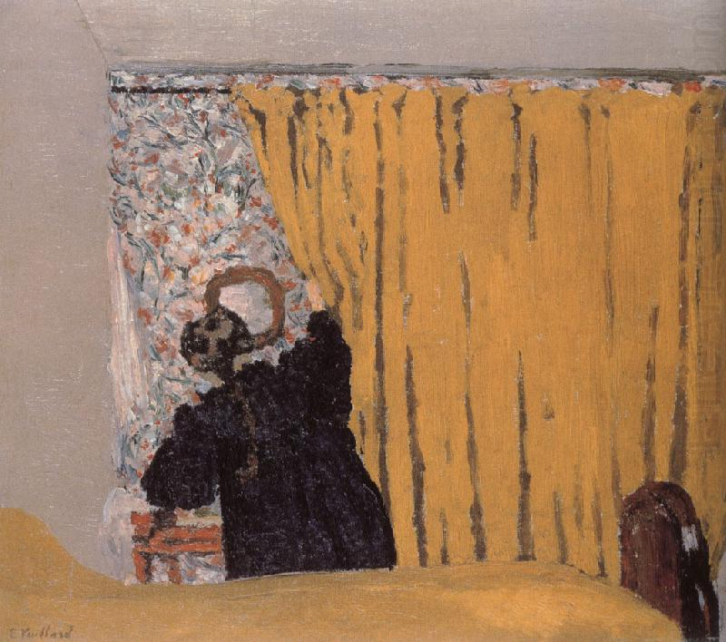 Yellow curtains, Edouard Vuillard