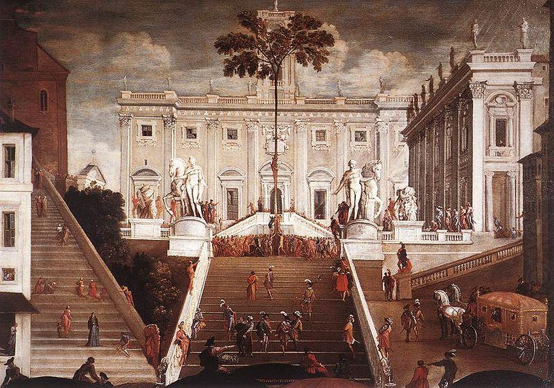 Competition on the Capitoline Hill, Agostino Tassi