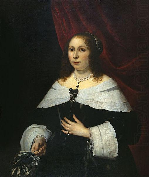 Lady in Black, Bartholomeus van der Helst