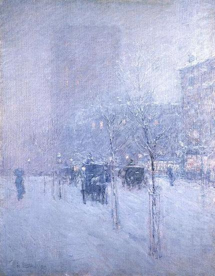 Late Afternoon, New York, Winter, Childe Hassam