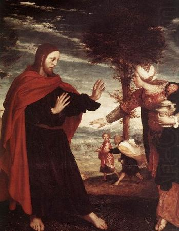 Noli me tangere, Hans holbein the younger