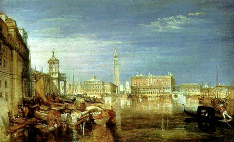 bridge of sighs, ducal palace and custom house, J.M.W.Turner