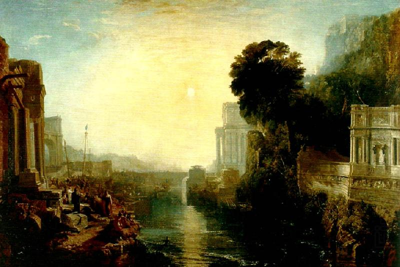 dido building carthage, J.M.W.Turner
