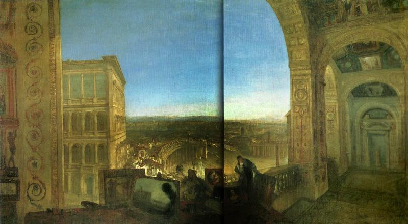 rome from the vatican, J.M.W.Turner