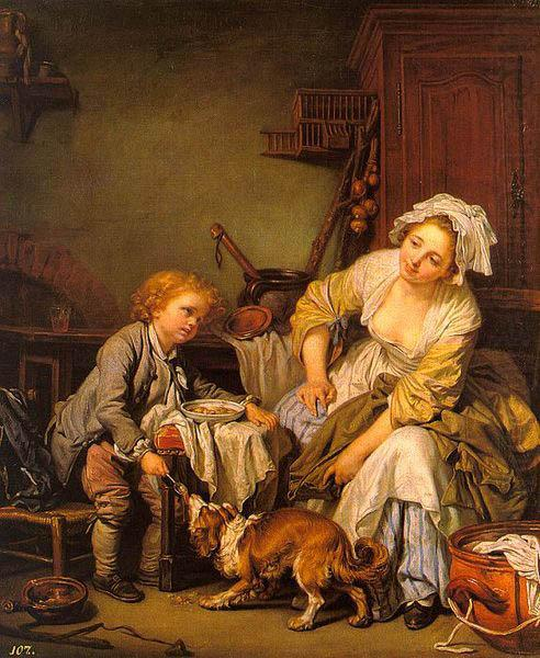 The Spoiled Child, Jean-Baptiste Greuze