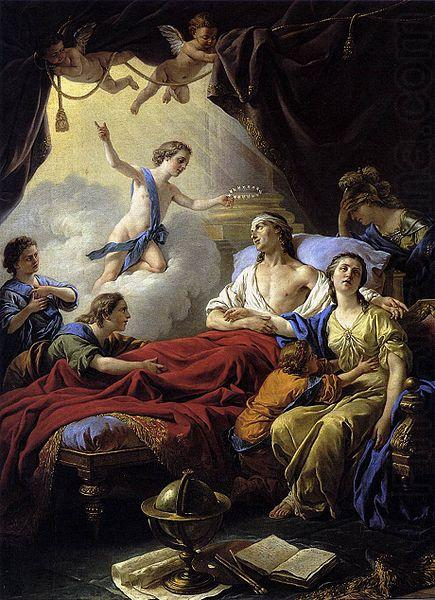 Allegory on the Death of the Dauphin, Louis Jean Francois Lagrenee