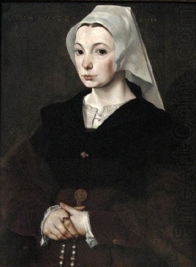 Master of the Legend Portrait of a young woman