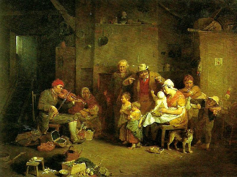 the blind fiddler, Sir David Wilkie