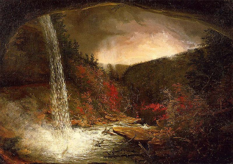 Kaaterskill Falls, Thomas Cole