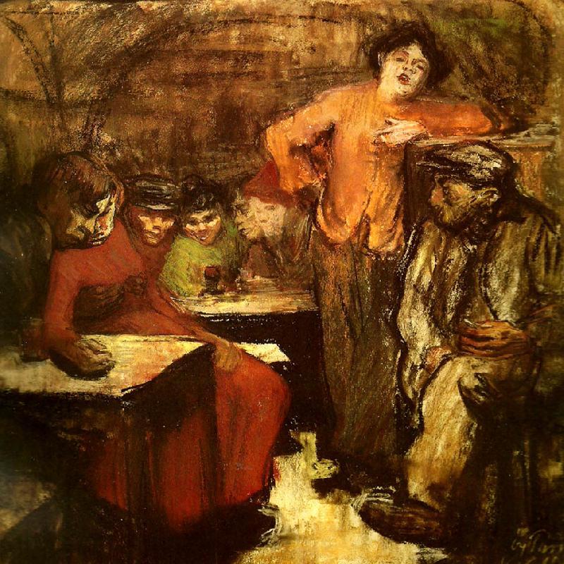 Kallarlokal I Paris Kathe Kollwitz Wholesale Oil Painting