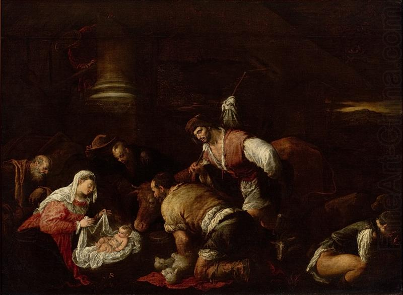 unknow artist Adoration of the Shepherds