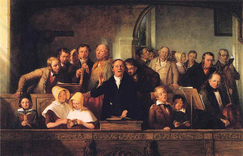 The Village Choir, unknow artist