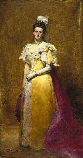 Portrait of Emily Warren Roebling, unknow artist