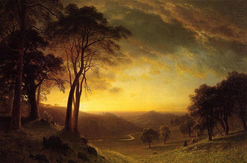 Sacramento River Valley, Albert Bierstadt