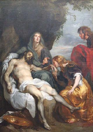 The Lamentation over the Dead Christ, Anthony Van Dyck