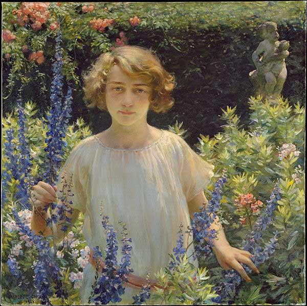 Betty Newell, Charles Courtney Curran