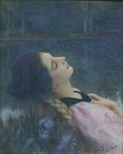 The Calm, Charles-Amable Lenoir