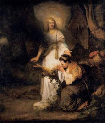 Hagar and the Angel, FABRITIUS, Carel