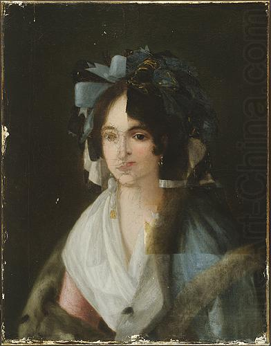 Francisco de goya y Lucientes Portrait of a Woman