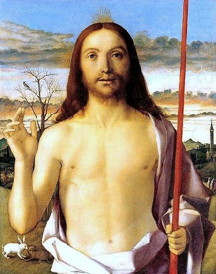 Gentile Bellini Christ Blessing