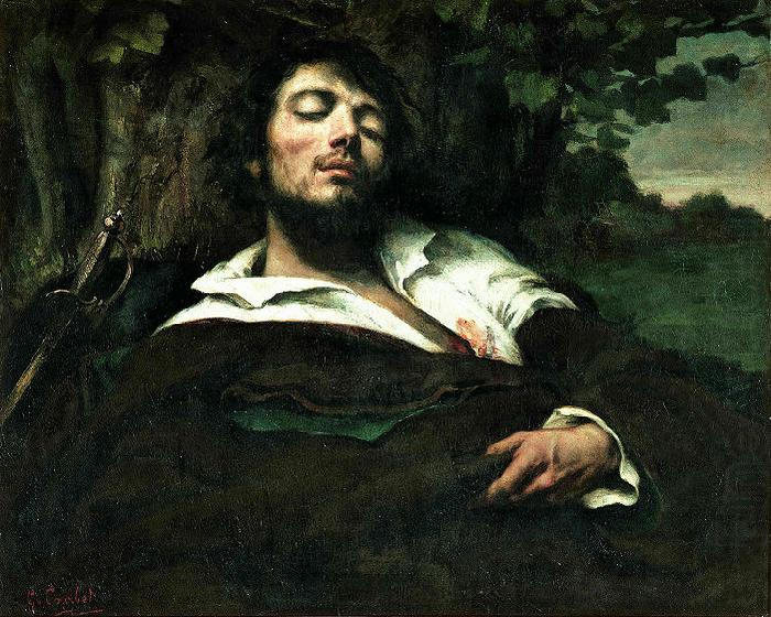 Wounded Man, Gustave Courbet