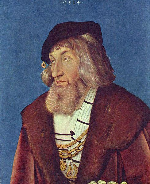 Hans Baldung Grien Portrait of a Man
