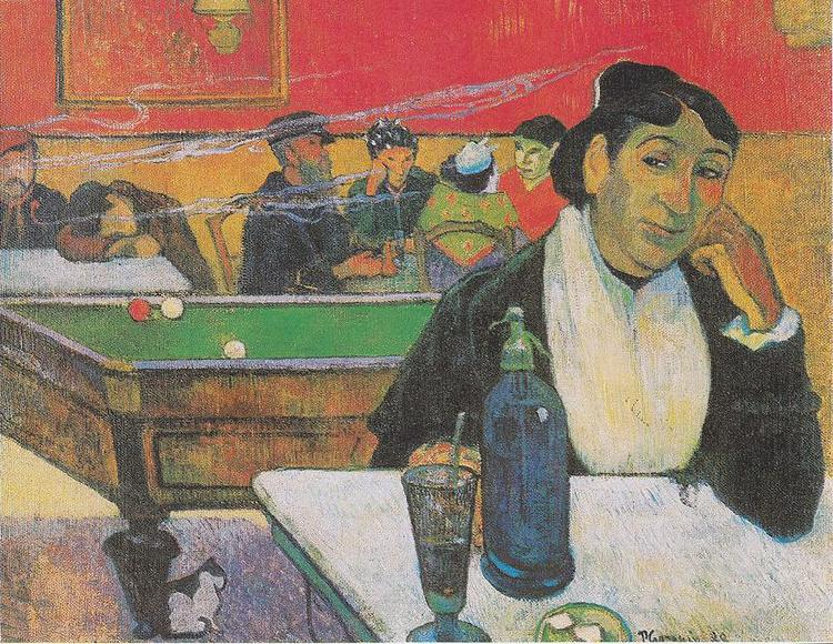 Cafe de nit a Arle, Paul Gauguin