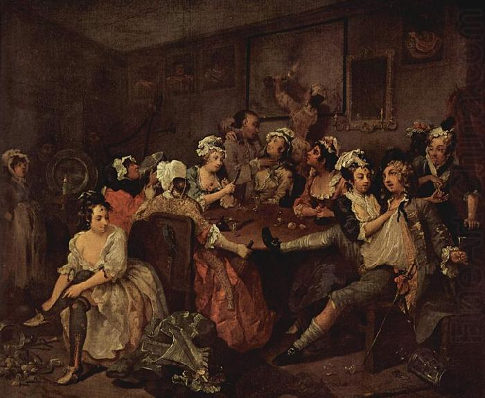 Gemadefolge, William Hogarth