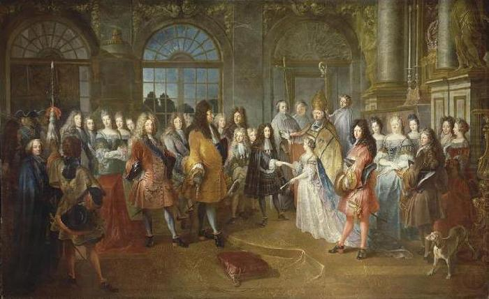 Mariage de Louis de France, unknow artist
