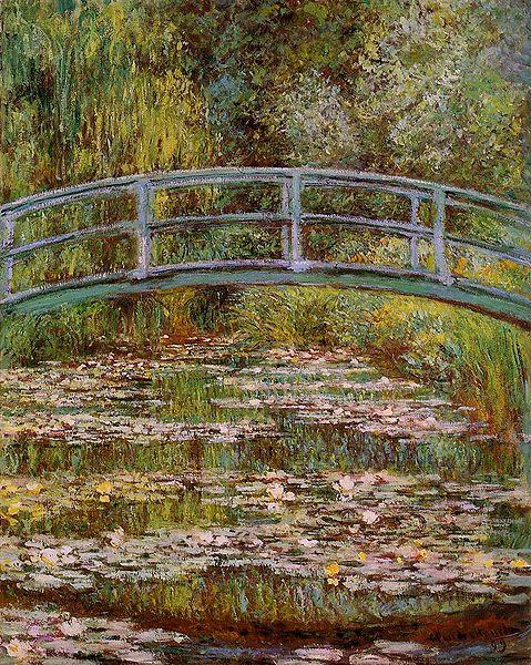 The Water-Lily Pond, Claude Monet