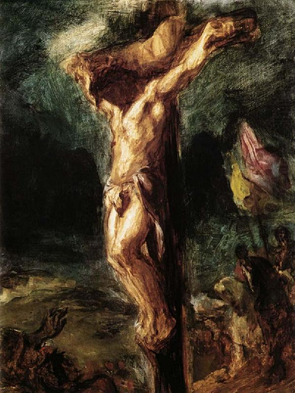 Eugene Delacroix Christ on the Cross
