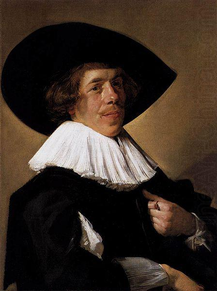 Portrait of a Man, Frans Hals