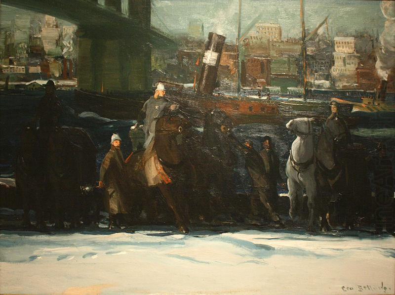 Snow Dumpers, George Wesley Bellows