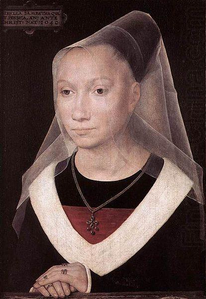 Hans Memling Portrait of a Young Woman