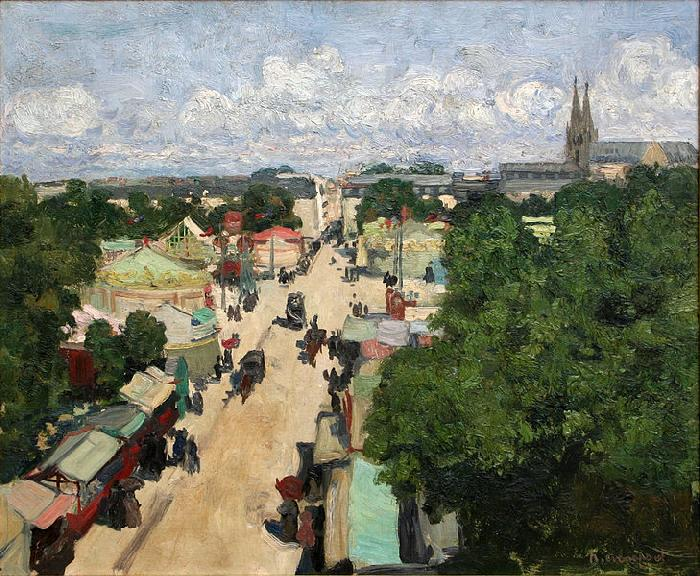 Fair at Les Invalides, Henri Evenepoel