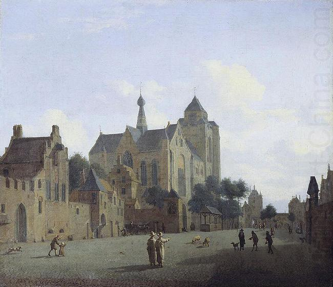 The church at Veere, Jan van der Heyden