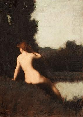 A Bather, Jean-Jacques Henner