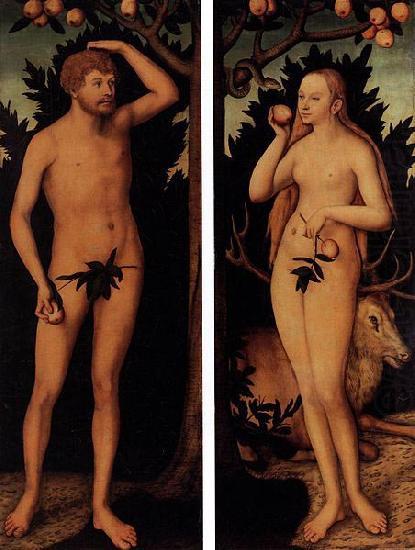 Cranach The Elder Adam And Eve Adam And Eve Lucas Cranach