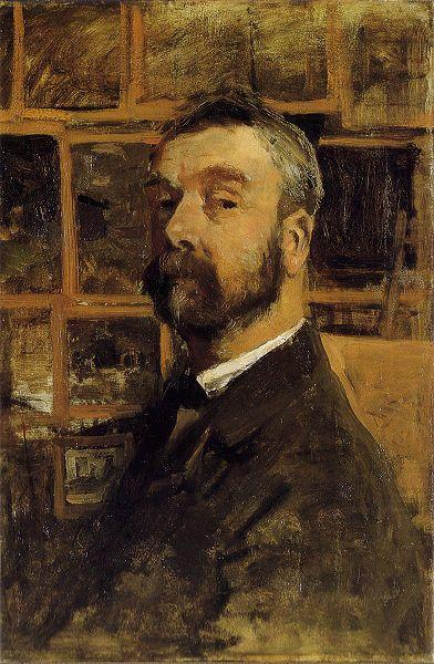 Self-portrait, Mauve, Anton
