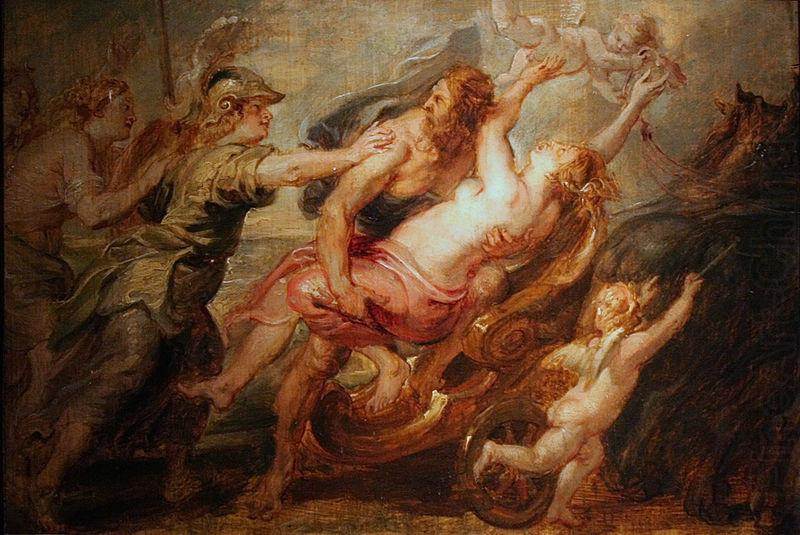 L enlevement de Proserpine, Peter Paul Rubens
