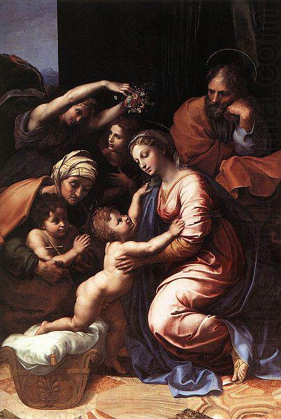 RAFFAELLO Sanzio The Holy Family