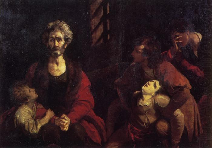Ugolino and His Children, Sir Joshua Reynolds