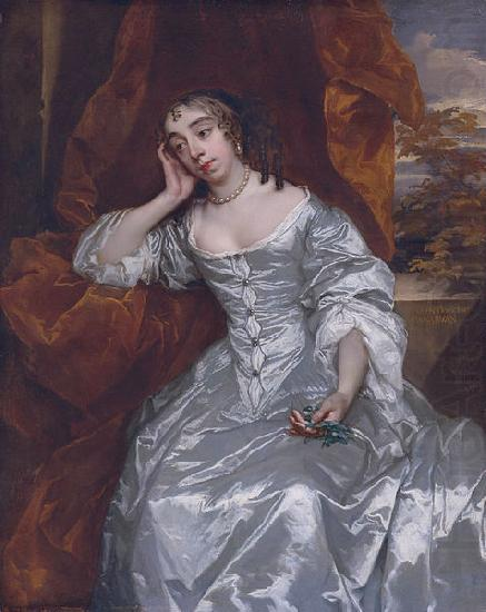 Countess of Carnarvon, Sir Peter Lely