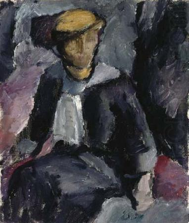 Sitting lady, Valle Rosenberg