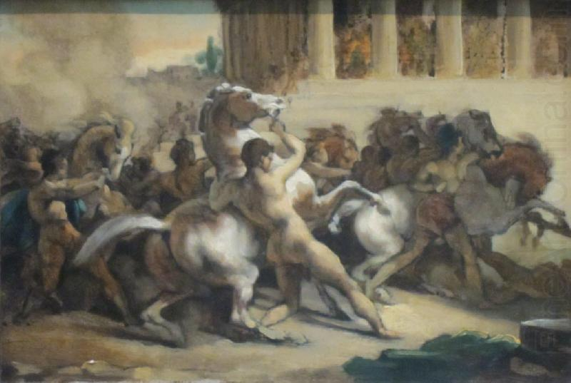 Race of the Riderless Horses, Ferdinand Hodler